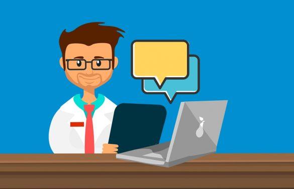 información webs médicas